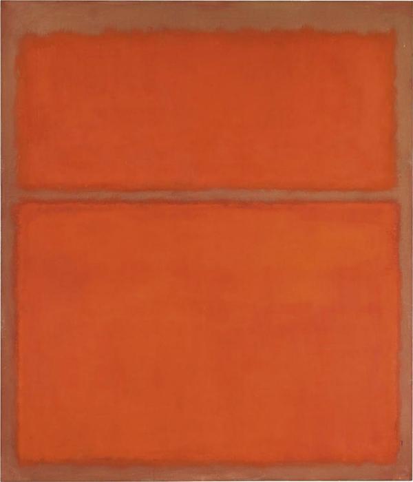 «Без названия (1961)» Марк Ротко – $28 млн