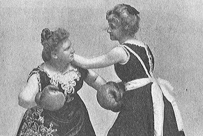 Женщины-боксёры прошлого. От кулачных боёв до олимпийского ринга
