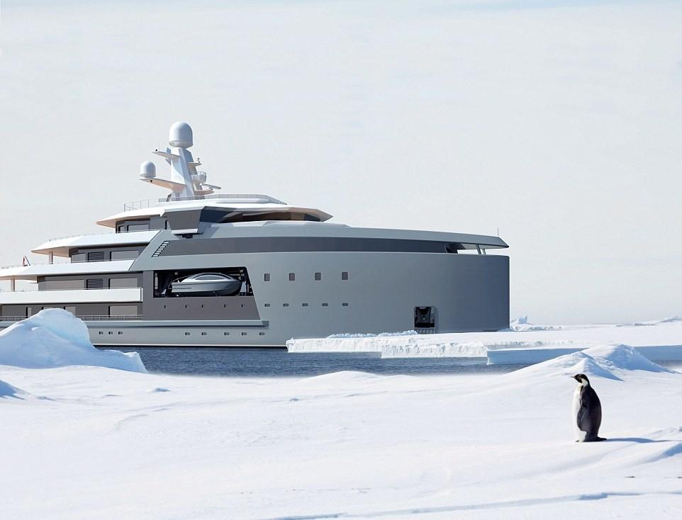 Уникальная в своем роде яхта-ледокол класса люкс
