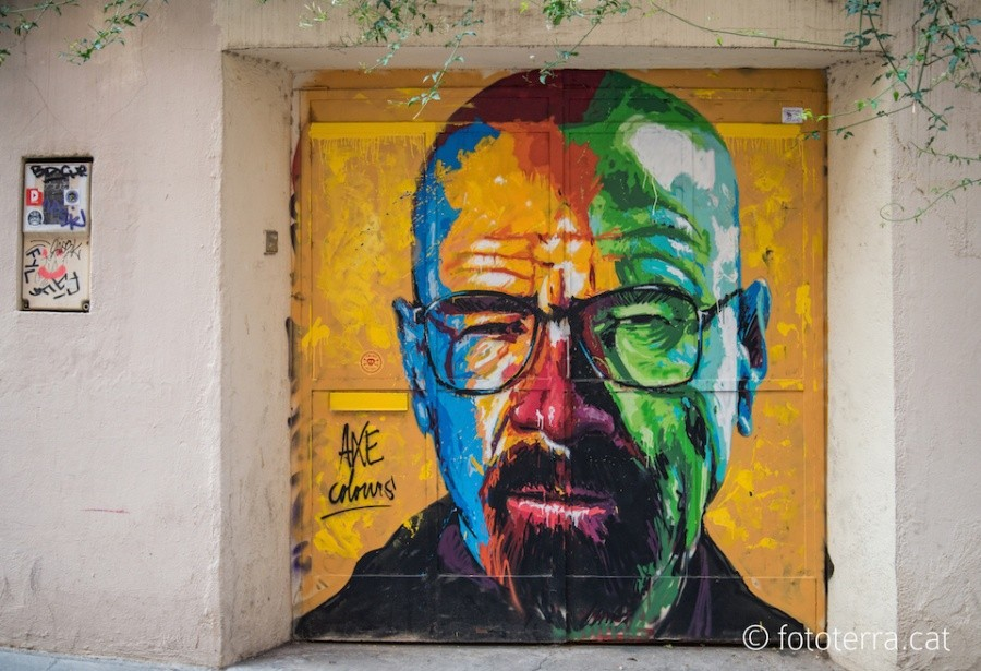 Барселона (Испания). Автор: Axe Colours