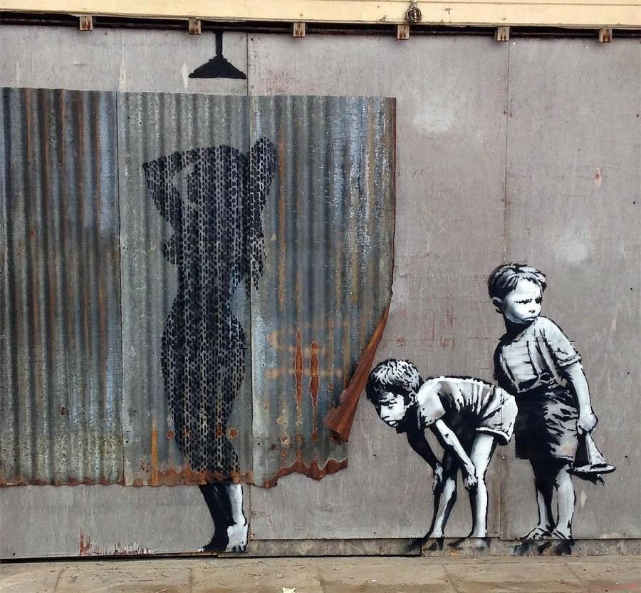 Дисмаленд (Великобритания). Автор: Banksy