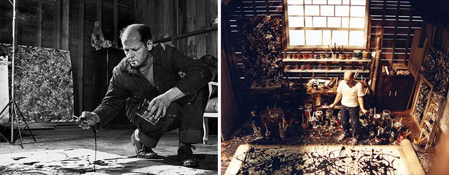 10. Джексон Поллок (Jackson Pollock)
