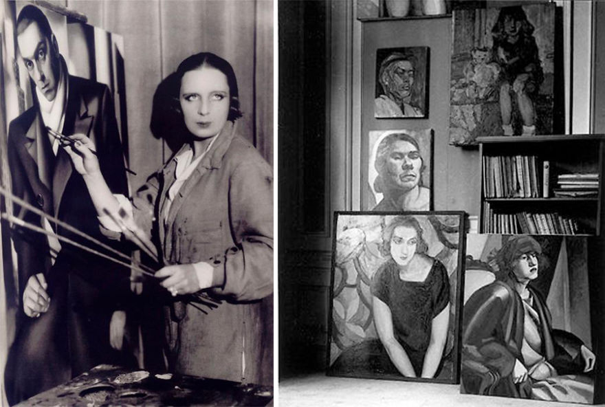 46. Тамара де Лемпицка (Tamara Lempicka; Мария Гурвич-Гурска)