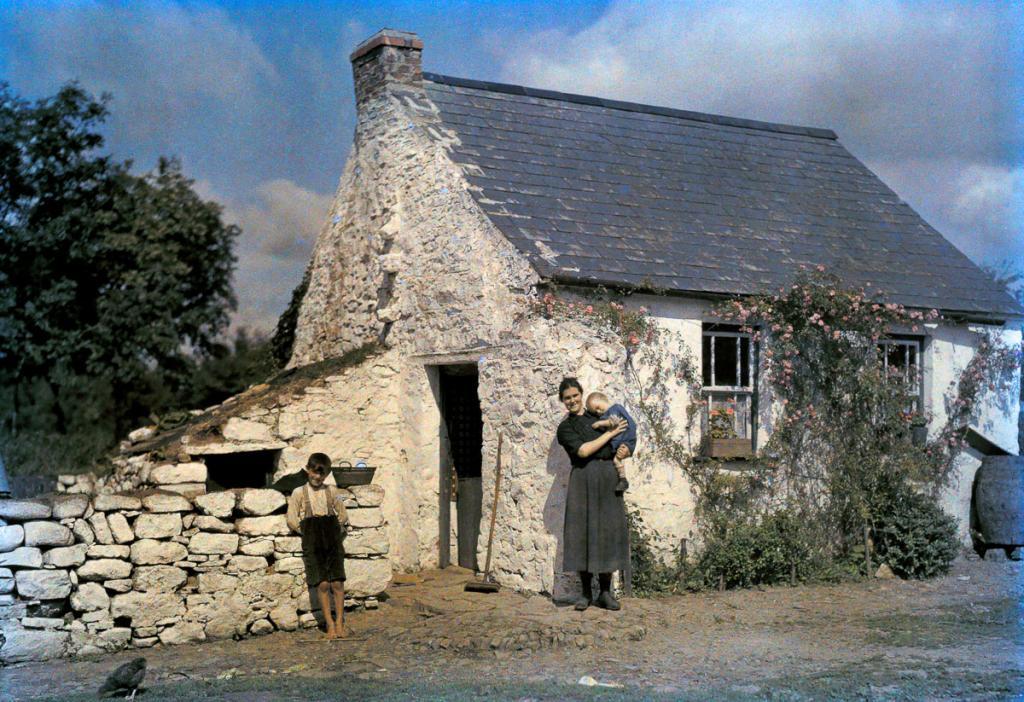 Идиллические цветные фотографии Ирландии 1927 года