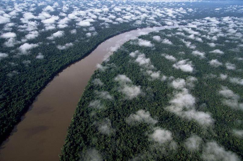 10. Река Ориноко среди дождевых лесов Амазонии, Венесуэла