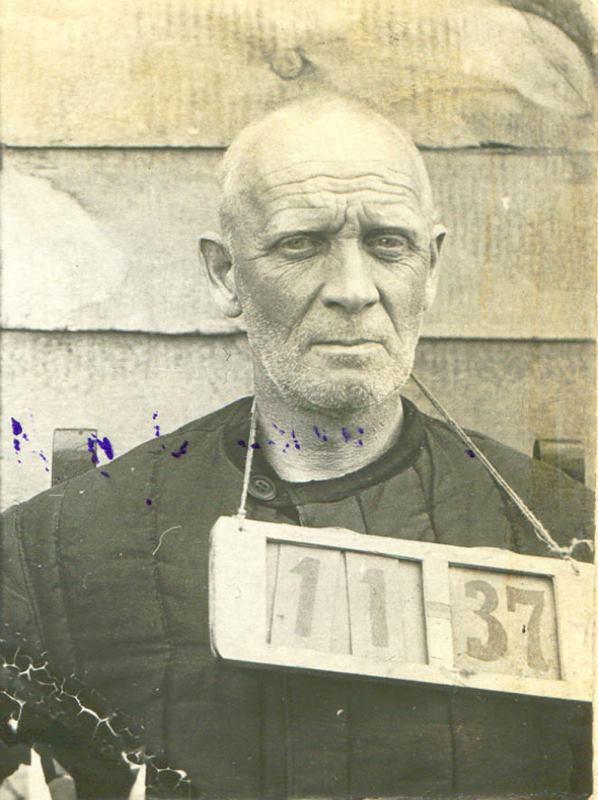 Князь Михаил Долгоруков, перед расстрелом, 1937 год. Реабилитирован посмертно 4 января 1957 года. Состава преступления в его действиях не обнаружено.