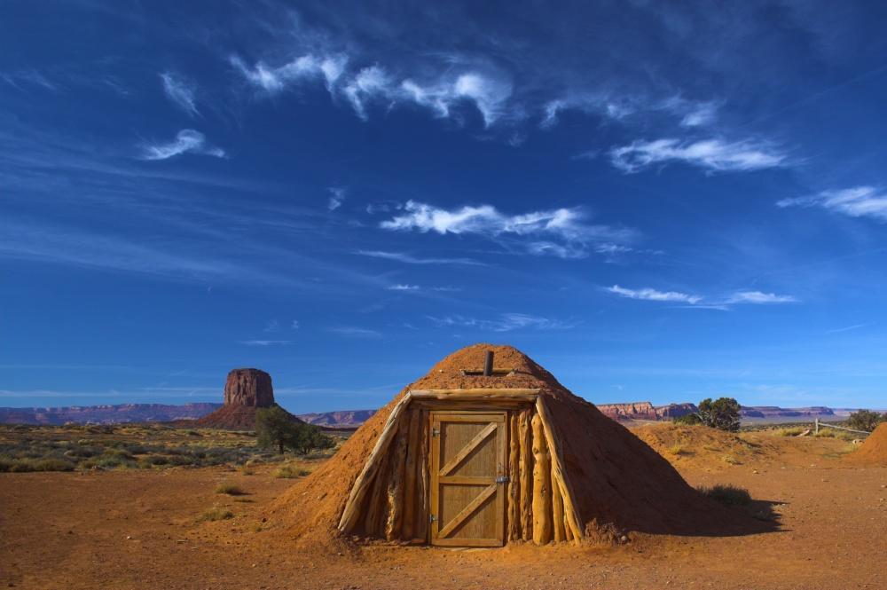 Хижина из глины, Аризона, США