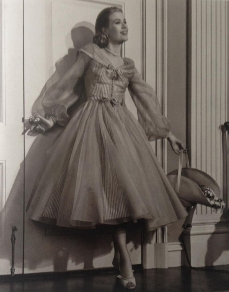 Грейс Келли в фильме «Высшее общество», 1956 год. Фотограф Эрик Карпентер.