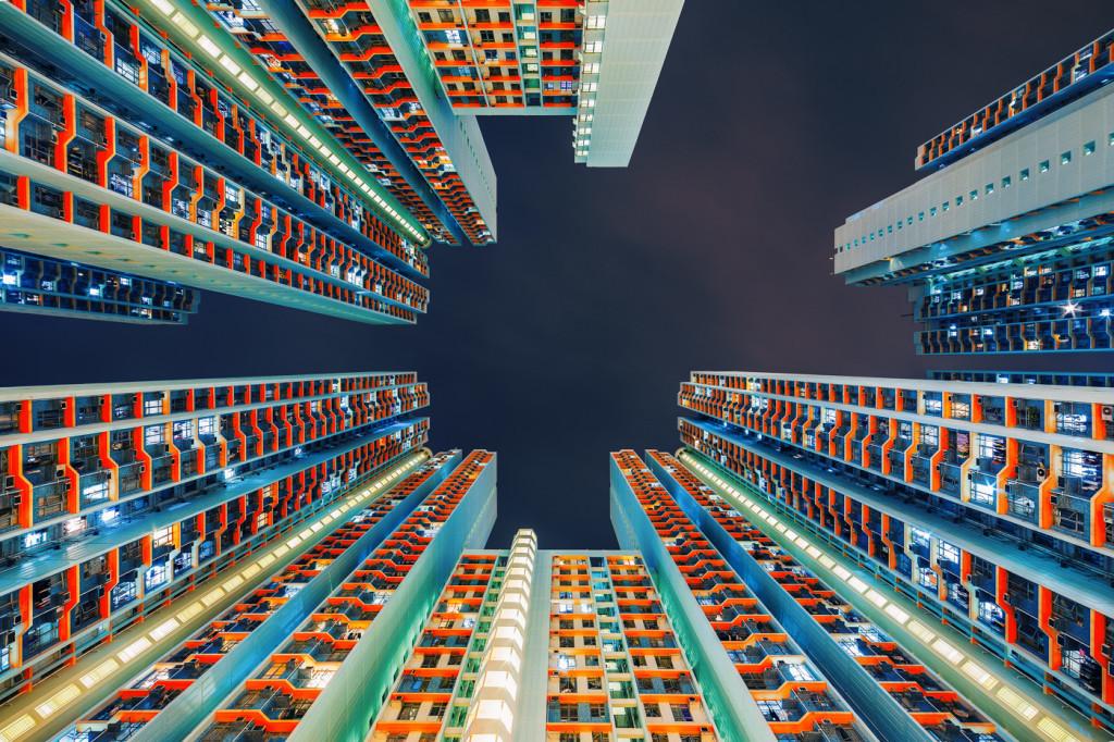 Гипнотизирующие небоскребы Гонконга. Зоркий взгляд с земли