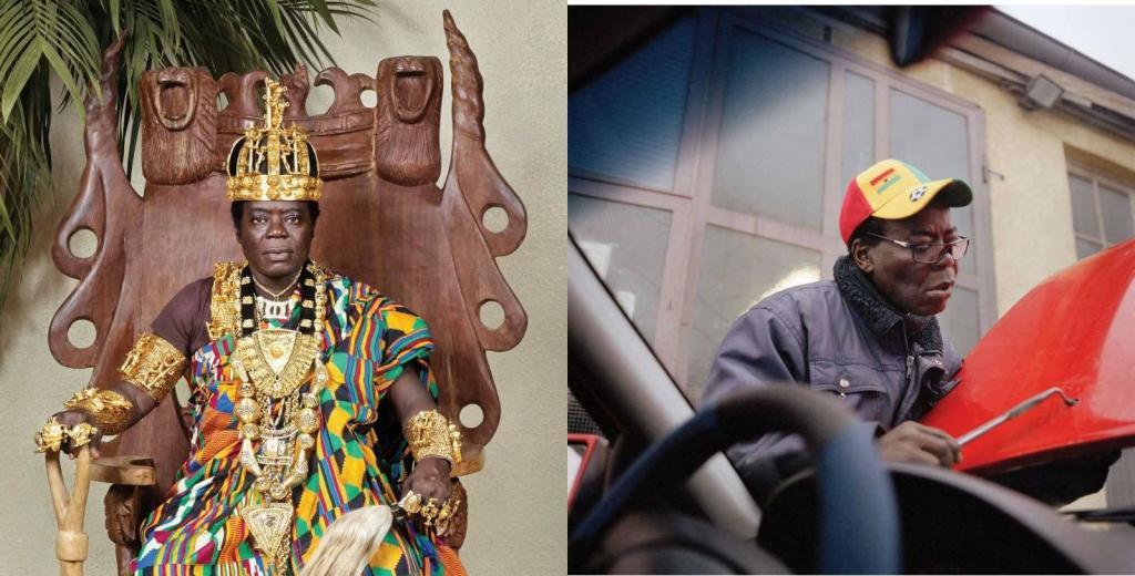 Король из Африки трудится механиком
