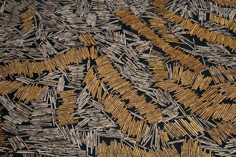 18. Заготовка пиломатериалов в городе Порт-Жантиль, провинция Огове-Маритим, Габон