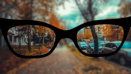 Совершенно особенный мир глазами близоруких людей