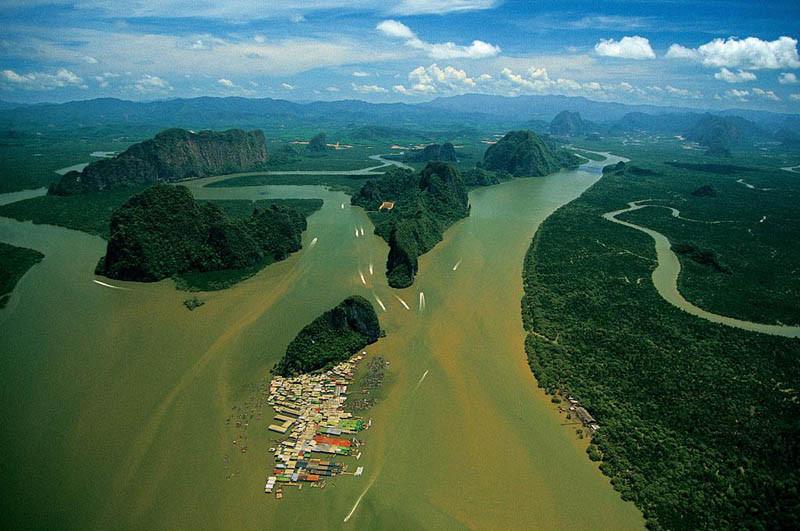 21. Деревня Ко Пануи, провинция Панг Нга Бэй, Таиланд
