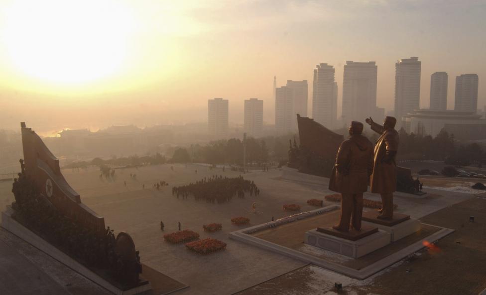 Статуи Ким Ир Сена и Ким Чен Ира
