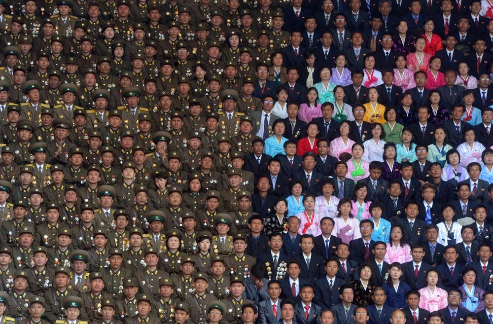Празднование 100-летней годовщины со дня рождения основателя Северной Кореи.