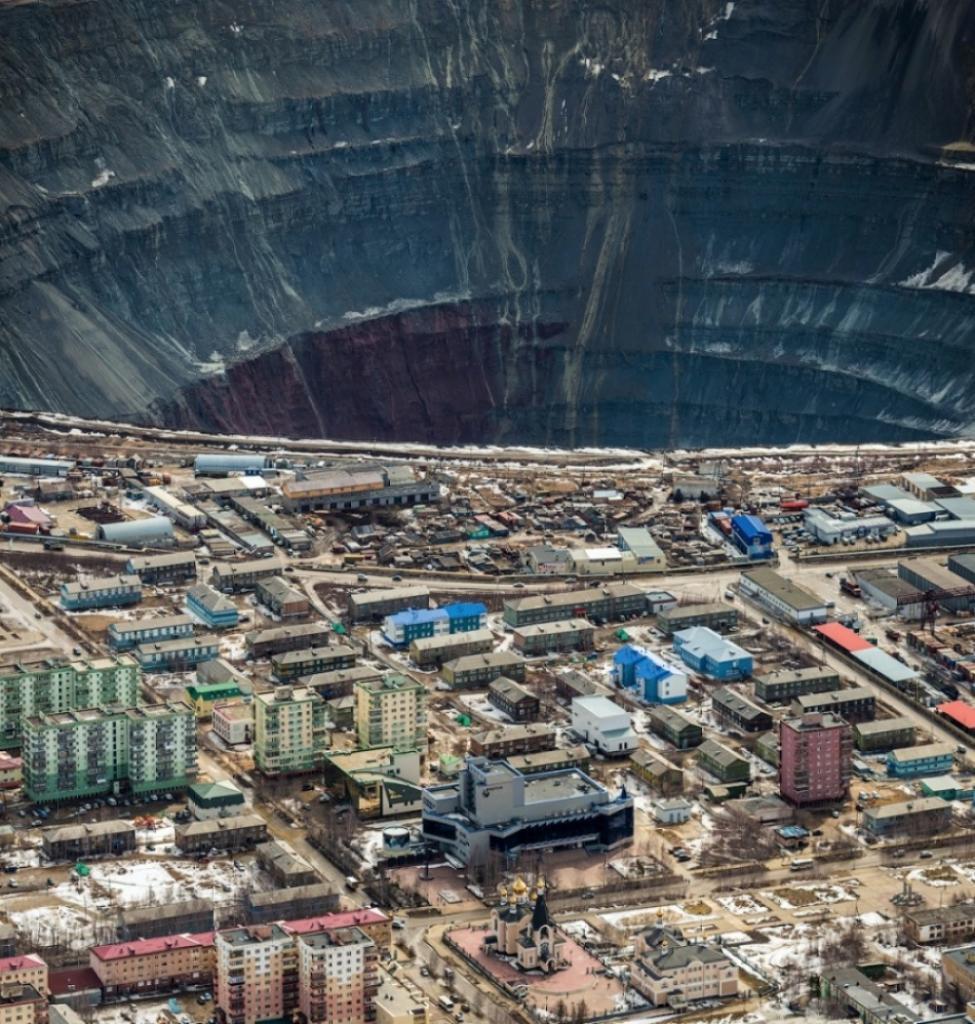 Так добывают алмазы, Мирный, Якутия, Россия