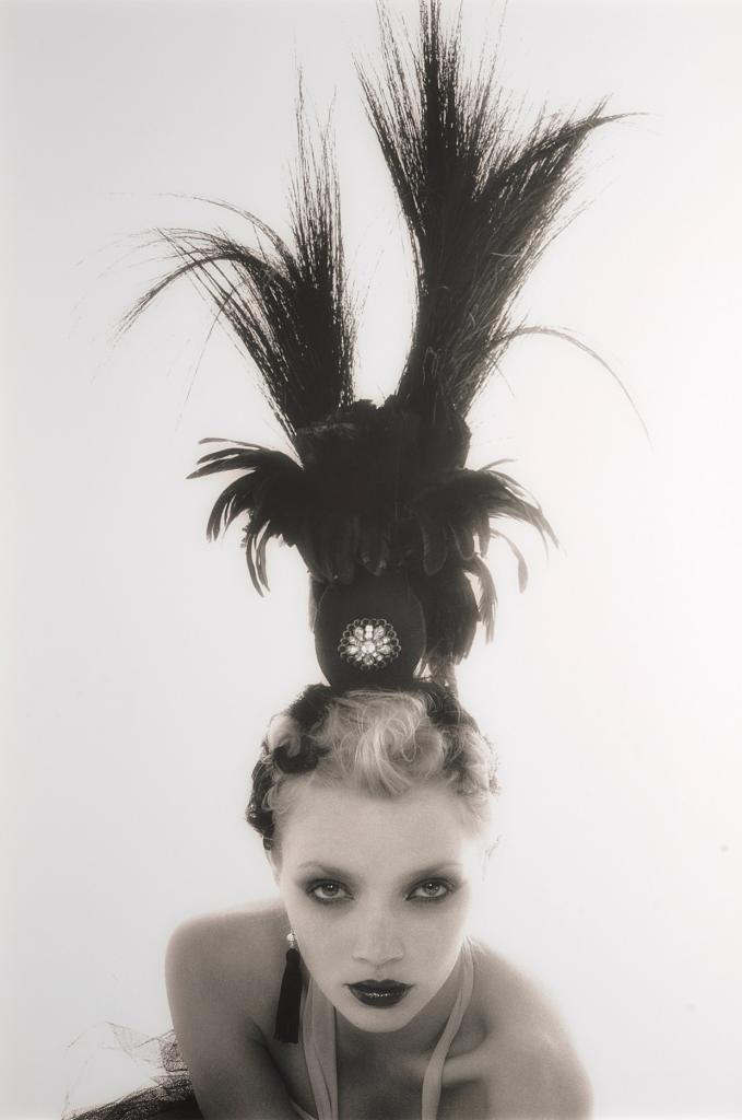 Джоди Кидд, Лондон, 2002/2003. Автор: российский модный и портретный фотограф Олег Михеев.