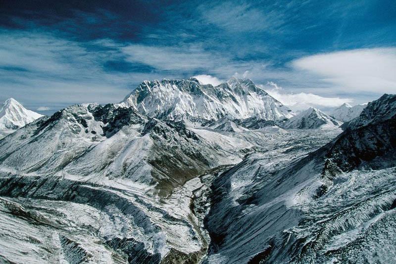 4. Гора Эверест, Гималаи, Непал