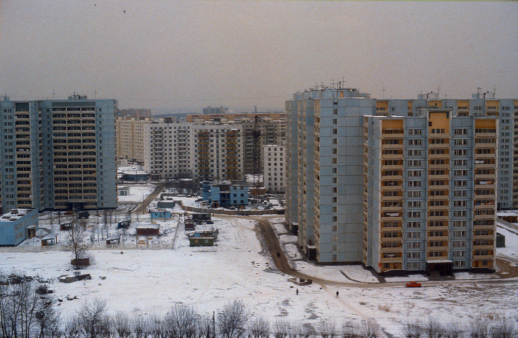 5. Московские новостройки.
