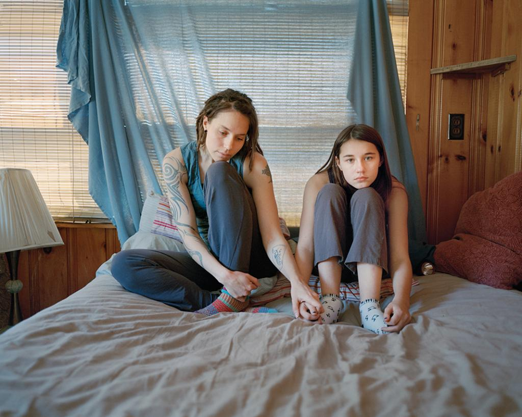 Kate and Cora, Porter, Maine 2014.