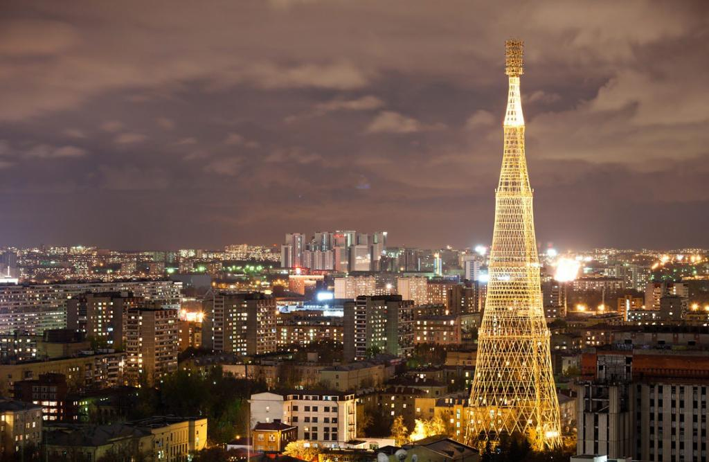 Шедевр инженерного искусства. Шуховская башня в Москве