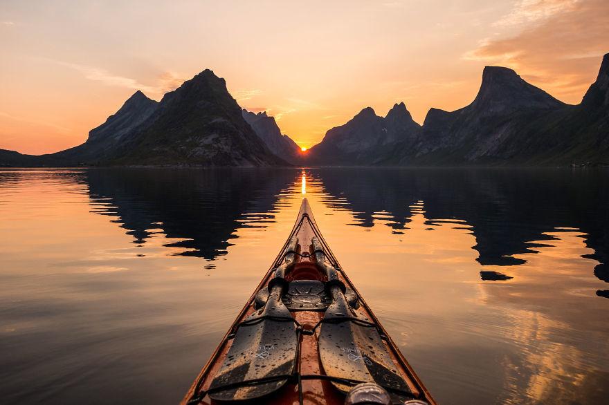 Фото норвежских фьордов, сделанные этим парнем, больше похожи на сказочные картины