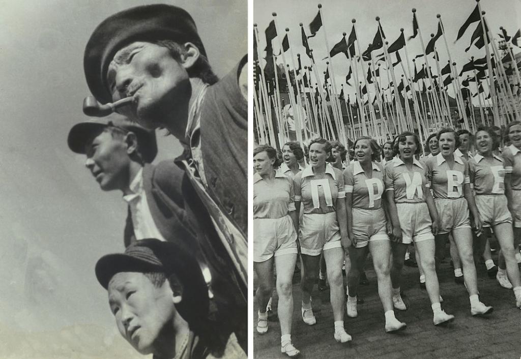 На удивление авангардная ранняя советская фотография