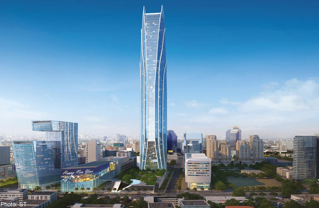 Rama IX Super Tower в Бангкоке, Таиланд