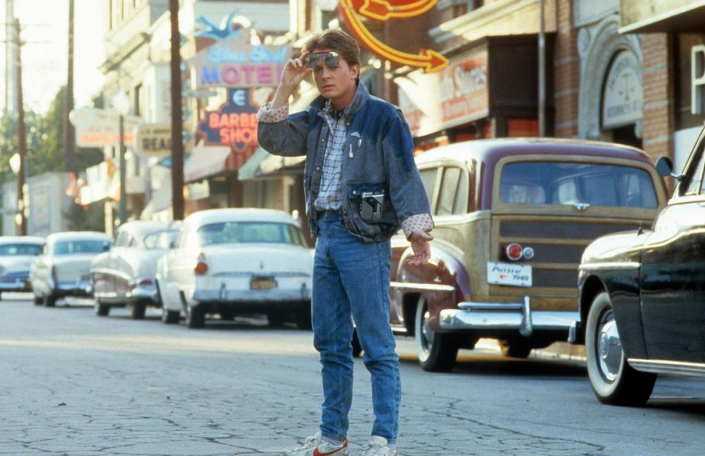 Michael J Fox In 'Back To The Future'