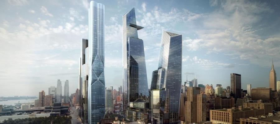 Hudson Yards в Нью-Йорке, США