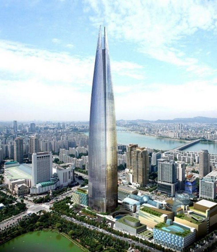 Lotte World Tower � �����, ����� �����