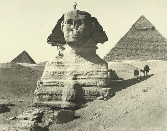 Старинные египетские снимки