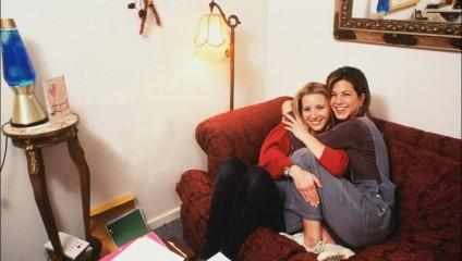 10 душевных фотографий за кадром телесериала «Друзья»