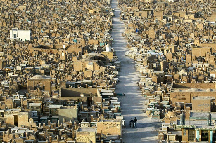 6. Вади-ас-Салам (Wadi-us-Salaam), Ирак, Ан-Наджаф