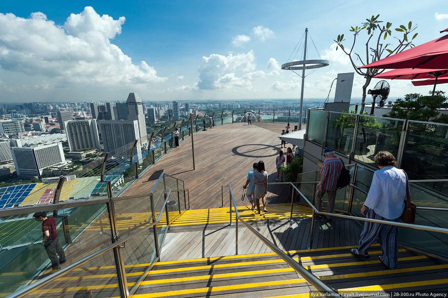 БАССЕЙН ПОД ОБЛАКАМИ: MARINA BAY SANDS В СИНГАПУРЕ. 7