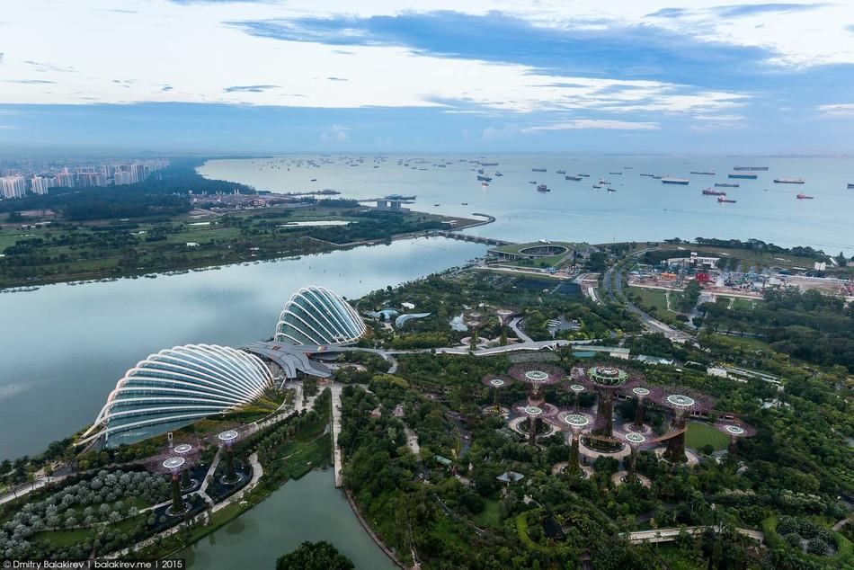 БАССЕЙН ПОД ОБЛАКАМИ: MARINA BAY SANDS В СИНГАПУРЕ. 12