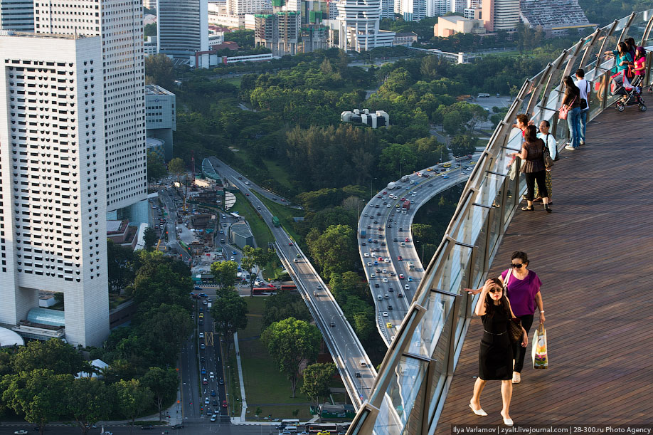 БАССЕЙН ПОД ОБЛАКАМИ: MARINA BAY SANDS В СИНГАПУРЕ. 8