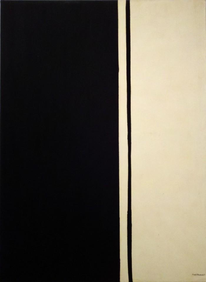 9. Барнетт Ньюман. «Черный огонь I» — 84,2 млн долларов