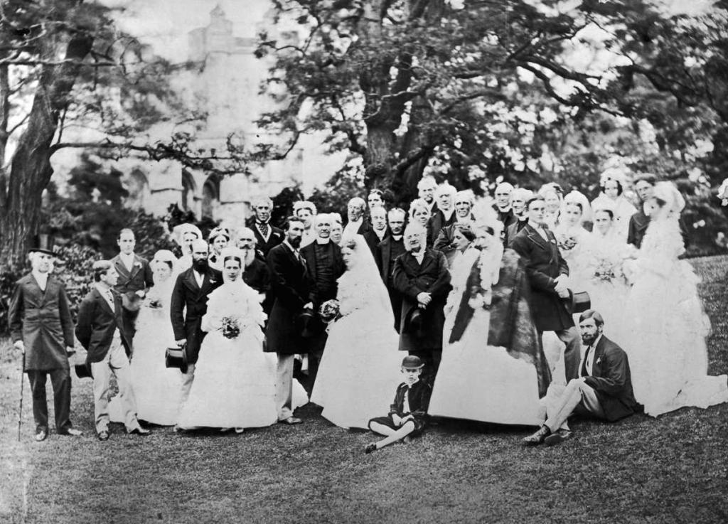1864 год. Свадьба группы оксфордских профессоров