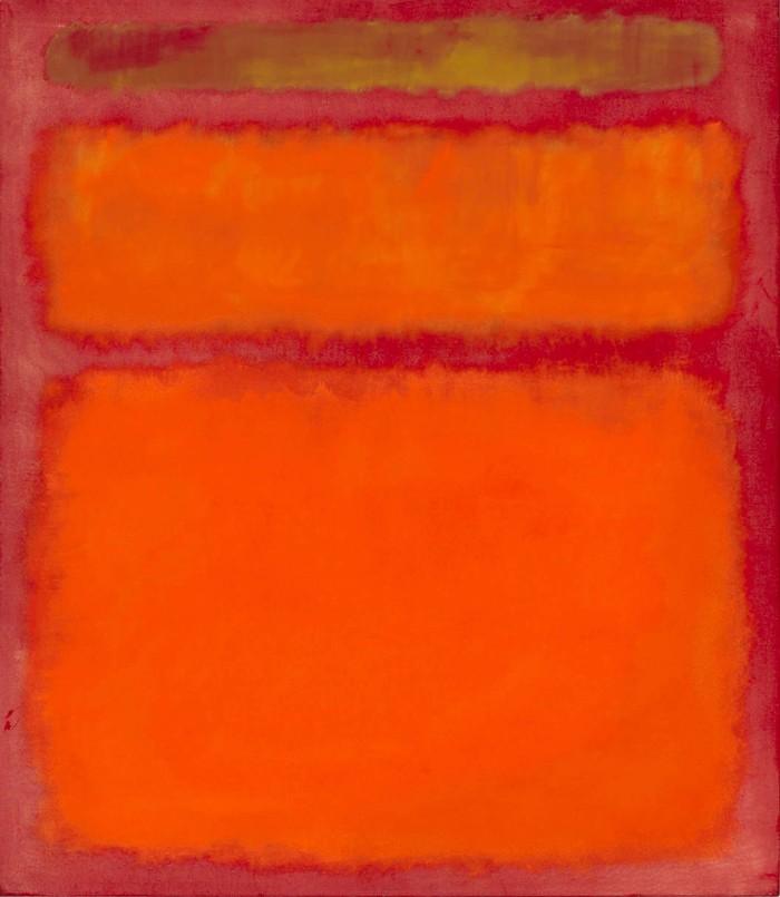 10. Марк Ротко. «Оранжевый, красный, желтый» — 86,9 млн долларов
