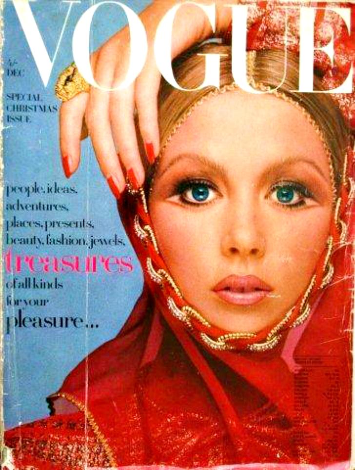 Обложка журнала Vogue. 1969 год.
