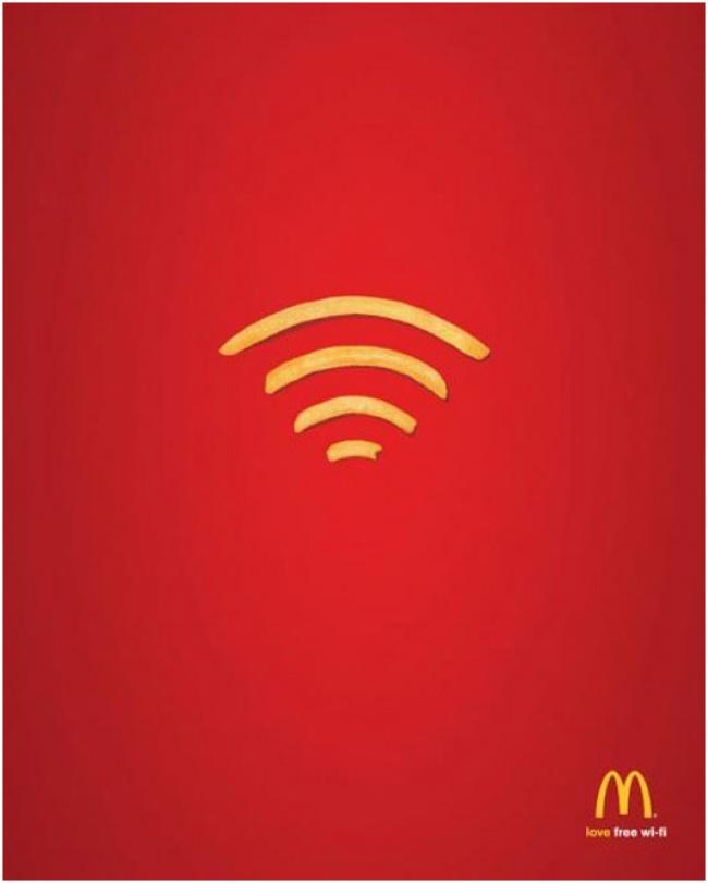 Бесплатный Wi-Fi.