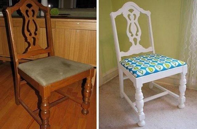 Потертые стулья
