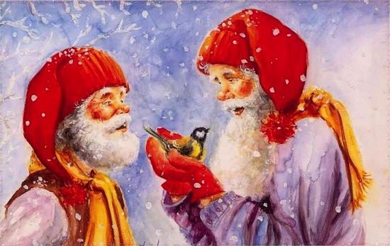 В Дании на Рождество нужно задабривать озорного эльфа по имени Ниссе