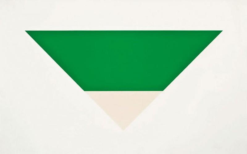 2. Эльсуорт Келли. «Зеленое белое» — 1,6 млн долларов