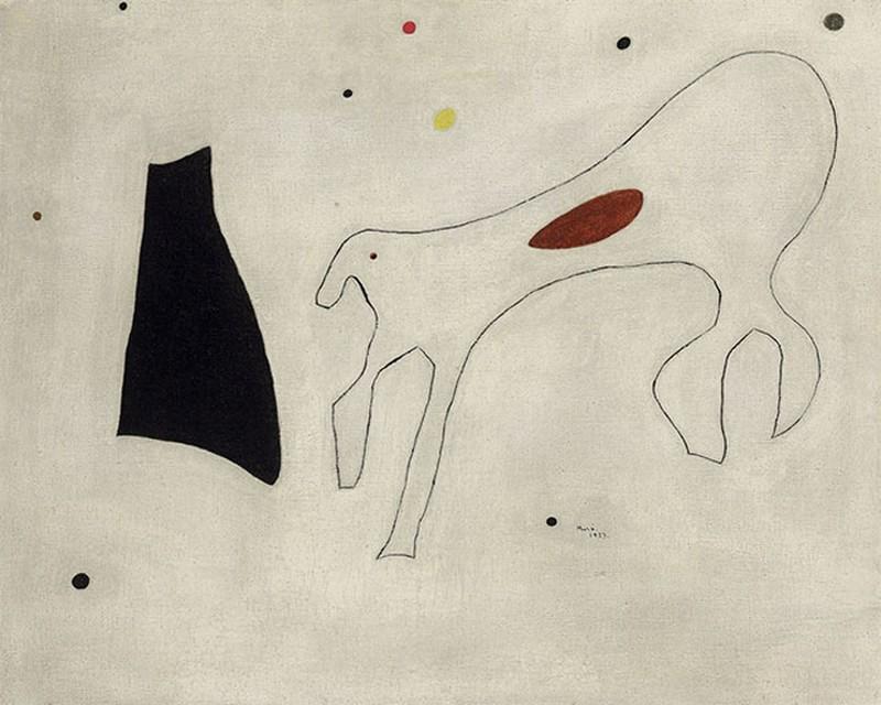 4. Жоан Миро. «Собака» — 2,2 млн долларов