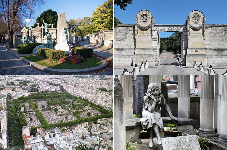 1.Кладбище Пер-Лашез (Père Lachaise), Франция, Париж