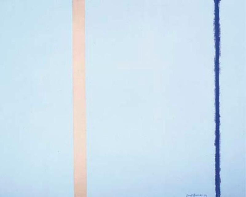 5. Барнетт Ньюман. «Белый огонь I» — 3,8 млн долларов