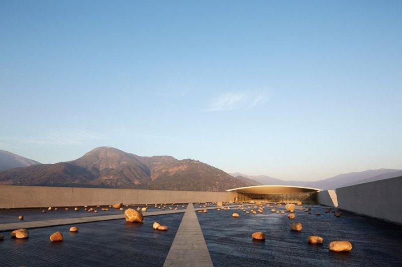 Винное хозяйство в чилийских Андах