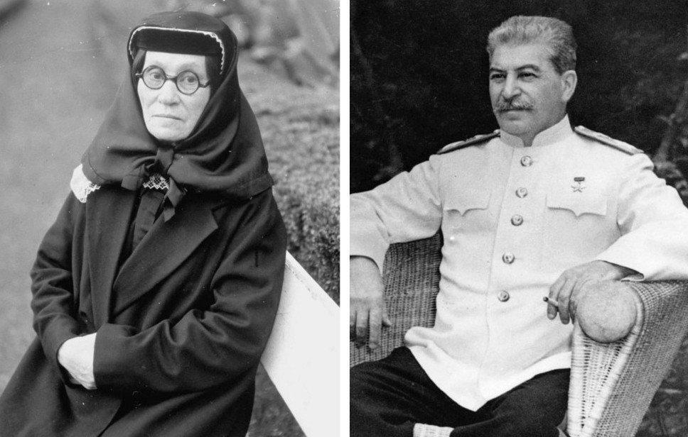 1. Мать Сталина — Екатерина Георгиевна Геладзе (1858 —1937).